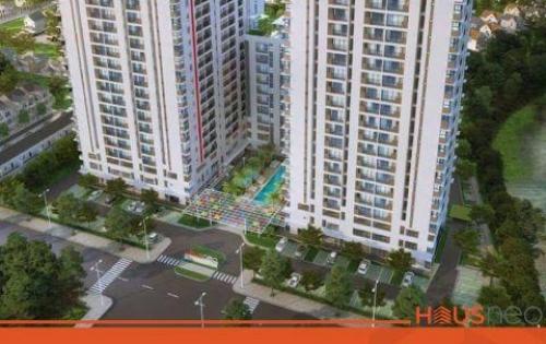 Cần bán căn hộ Hausneo 2PN 2WC tầng 10 giá 1,7 tỷ, thanh toán 1%/tháng. LH: 0909160018