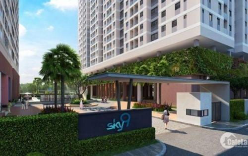 Khách cần ra gấp căn hộ sky 9 62m2 giá cực mềm lh 0962475579
