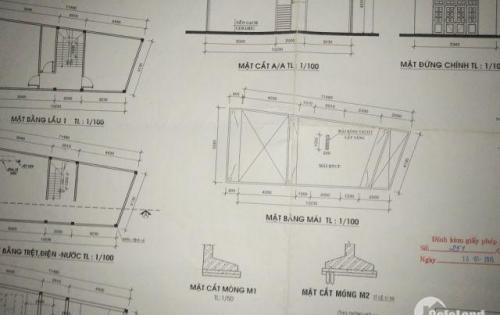 Bán dãy phòng trọ 1 lầu 7 phòng diện tích 61.2m2  ( chính chủ )