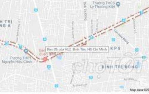 Nhà Hương Lộ 2 -Quận Bình Tân 48m² Giá.2,9 tỷ