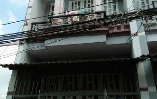 Kèo thơm,Nhà bán ngay chợ Bình Thành,1 trệt 1 lầu giá chi 1,68 tỷ