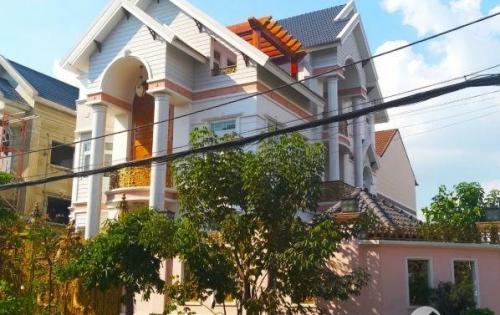 Biệt thự góc 2 mặt tiền 400m2, kiểu Thái, khu Tên Lửa quận Bình Tân