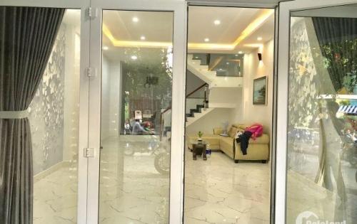 Bán nhà hẻm 12m đường Nguyễn Kiệm, P3, Gò Vấp.  (hình thật) , khu VIP đẹp lung linh.  diện tích: 5m x 15m vuông vức.   Nhà thiết kế 1 trệt 2 lầu sân thượng