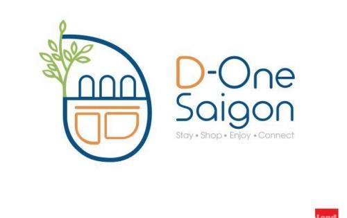 Mở bán Shophouse dự án D One Sài Gòn khu phố Street Style đầu tiên tại VN