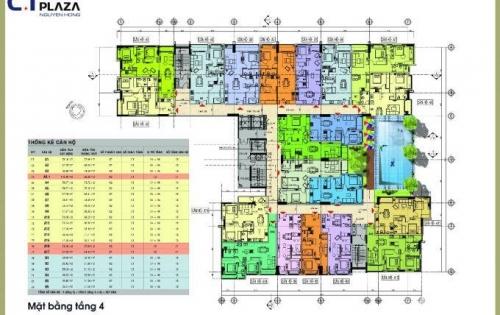 Bán gấp căn góc view đẹp nhất Nguyên Hồng, tầng 6, 72m2 thanh toán chỉ 1 tỷ LH: 093.211.8657