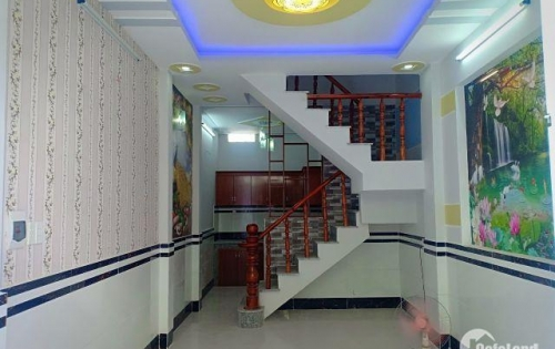 Cần bán nhanh Nhà mới xây sau Công Viên Phần Mền Quang Trung , 1 trệt 2 lầu , dtsd 105m2