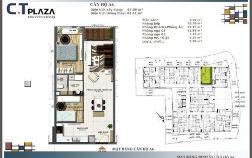 Chính chủ bán gấp căn hộ Nguyên Hồng Gò Vấp, chỉ thanh toán 720 triệu/căn 55m tầng đẹp, view đẹp LH: 093.211.8657