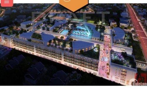 Dự án D One Gò Vấp, khu phức hợp Shophouse-Giải trí và căn hộ. Giá dự kiến 35- 75 triệu/m2