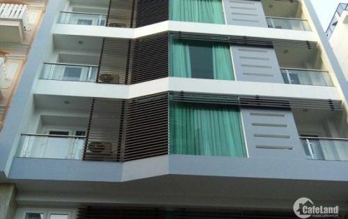 Chính chủ bán gấp tòa nhà mặt tiền đường Phan Đăng Lưu, Quận Bình Thạnh, DT 16x20m, 8 lầu giá 50 tỷ
