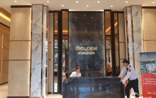 Căn hộ 96m2 3PN lầu 7 Golden Mansion Phú Nhuận view hồ bơi hướng đông