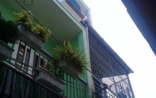 Bán nhà 4 tầng, chính chủ SHR, đường Âu Cơ, Tân Bình. Giá 3,7 tỷ.