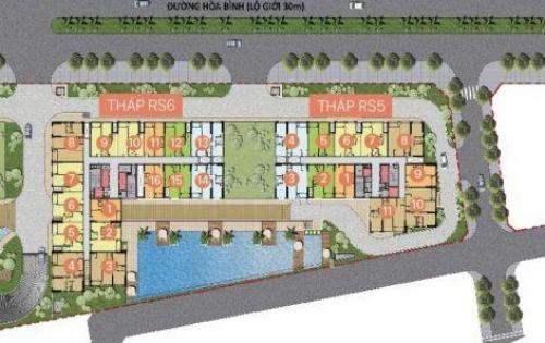Bán căn hộ Richstar, tháp 6, 88m2 giá 2tỷ350 loại 3 phòng ngủ LH: 0899466699
