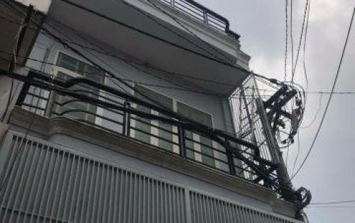 Thua Lỗ Bán Nhà 1 trệt 1 lầu 4x10m, 2 MT Hẻm 4m, Phú Thọ Hòa, Giá 3.8 tỷ, LH 0912943100