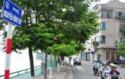 Tin chính chủ cần bán nhà 5 tầng phố Nguyễn Đình Thi.