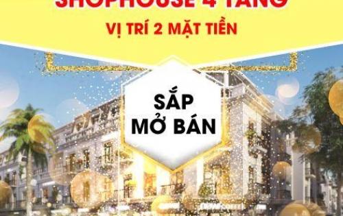 Ra mắt siêu ShopHouse mặt tiền Nguyễn Sinh Sắc – Hoàng Thị Loan cách biển 400m