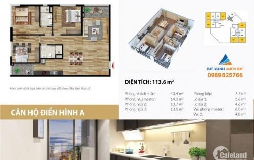 Bán căn hộ Stellar Garden số 35 Lê Văn Thiêm giá chỉ 29.5tr/m2