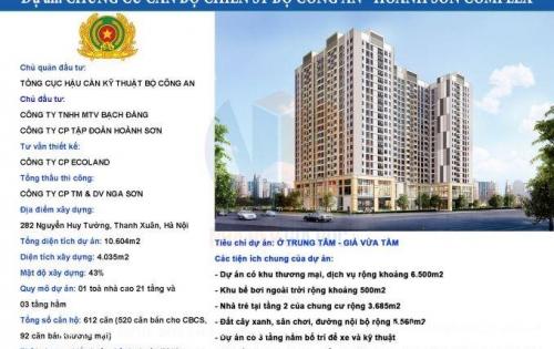 Bán căn hộ chung cư 282 Nguyễn Huy Tưởng, Phố Nhân Hòa, Quận Thanh Xuân