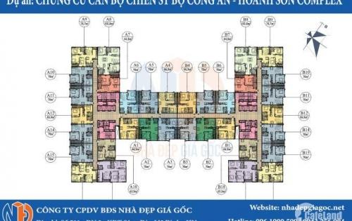 Hot ! Căn hộ rẻ nhất dự án 282 Nguyễn Huy Tưởng chỉ 1,4 tỷ