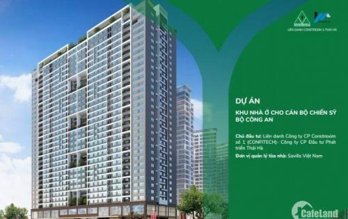 Bán căn hộ chung cư HH Dự án Nhà ở cho CBCS Bộ Công An, 43 PVĐ