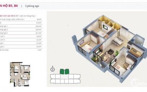 [An Bình City] Cần bán gấp căn hộ 82m2, cửa hướng tây, giá bán 2,550 tỷ