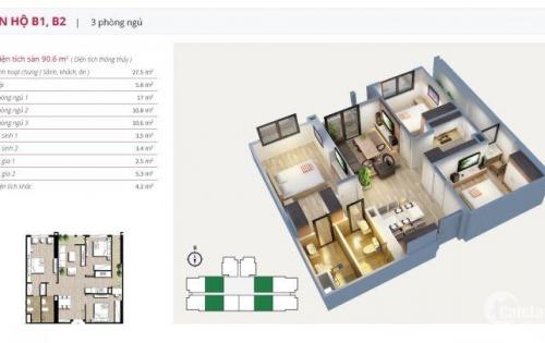 [An Bình City] Cần bán gấp căn hộ 112m2, sang tên trực tiếp cho người mua giá 3,290 tỷ