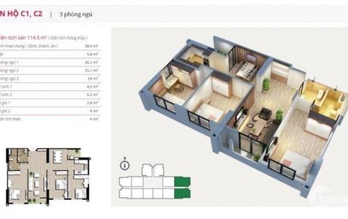 Chủ nhà cần bán gấp căn hộ  An Bình City 03 Phòng ngủ, 89m2, giá 2,615 tỷ