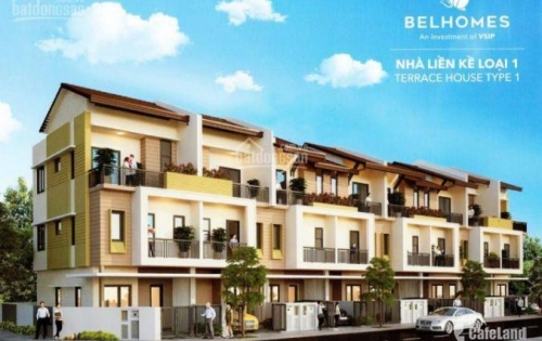 Bán căn shophouse của dự án Belhomes Vsip Từ Sơn, Bắc Ninh. 90m2