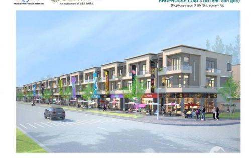 Bán Shophouse, nhà phố thương mại đẹp nhất KDT Centa city - Từ Sơn - Bắc Ninh:3,2 tỷ/căn 120m2;3 tầng.LH:0941512155