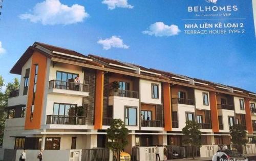 Cần bán lại căn nhà liền kề khu đô thị Belhomes Từ Sơn , Bắc Ninh giá rẻ hơn thì trường 200 triệu ,DT:90m2,xây 3 tầng xây thô bên trong , hoàn thiện ngoài.