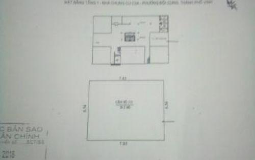 Bán căn hộ chung cư Đội Cung, đường Nguyễn Thái Học