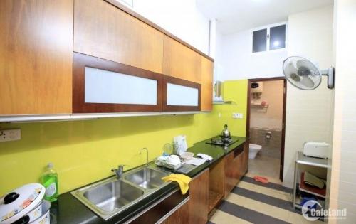 Cho thuê nhà đẹp giá rẻ ngõ Đội Cấn, full đồ nội thất, DT: 70m2, giá chỉ 20tr/tháng