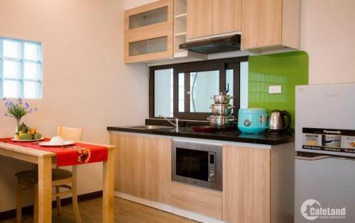Cho thuê căn hộ dịch vụ, full nội thất đường Trần Thái Tông, Nguyễn Phong Sắc Cầu Giấy