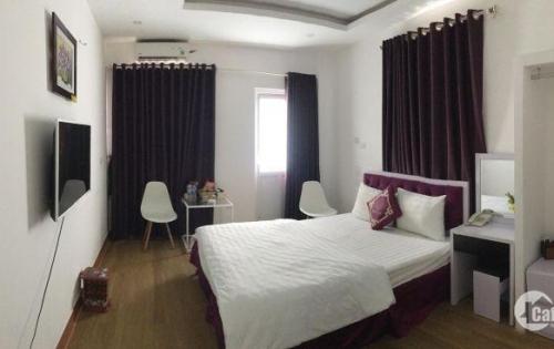 Cho thuê nhà làm khách sạn Quận Cầu Giấy, Dt 210m2, 32 phòng tiêu chuẩn. Giá 130tr