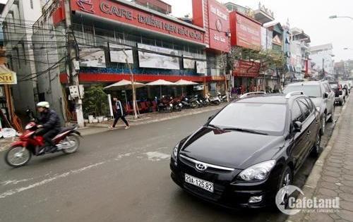 Cho thuê nhà MP Nguyễn Khang DT: 160m2, 1 tầng, MT 15m, Giá thuê: 19tr.
