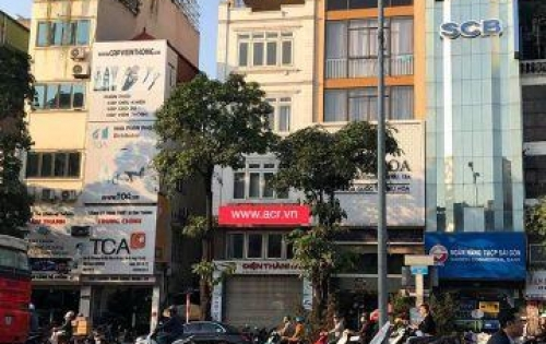 Cho thuê nhà 2 mặt tiền phố Hào Nam, Đống Đa. Kinh doanh siêu lợi nhuân