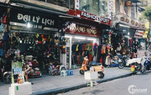 Cho thuê nhà mặt phố Lò Sũ, quận Hoàn Kiếm: + DT 75m, 4 tầng, MT 4m, Giá thuê 60 triệu/tháng ( có thương lượng)