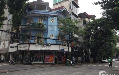 Chính chủ cho thuê nhà mặt phố Hàng Da, Hoàn Kiếm, mặt tiền cực rộng 7m.