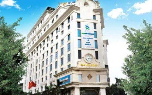 Cho thuê nhà mặt phố Bà Triệu: 350m2, 3 tầng, mặt tiền 9m.