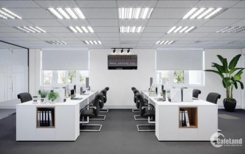 Văn phòng trung tâm Hoàn Kiếm, DT 126m2 giá 9USD/m2, ngăn chia sẵn vào làm việc luôn