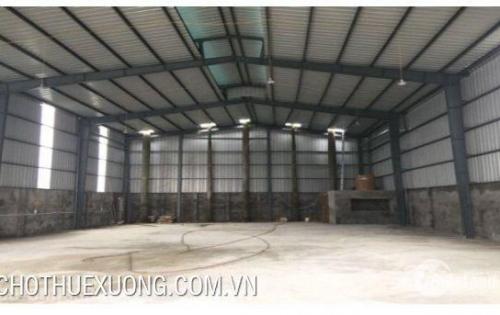 Cho thuê nhà xưởng tại Tân Dân, Khoái Châu, Hưng Yên DT 3005m2