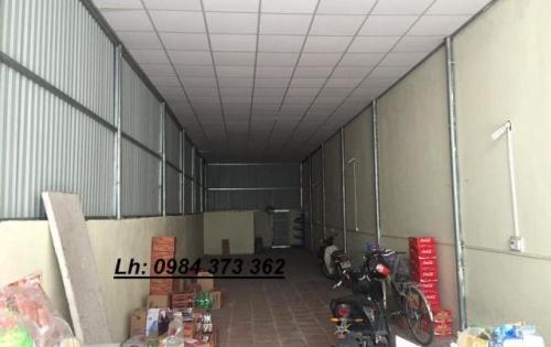 Cần cho thuê nhà kho, xưởng Phúc Đồng, Long Biên. S 100m. Giá: 9 tr/ th. Lh: 0984.373.362