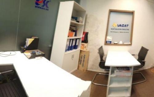Văn phòng trọn gói Q1 đẹp nội thất hiện đại sàn lót thảm DT 10m2 (cty 3 4ng) giá thuê chỉ 5tr9/th