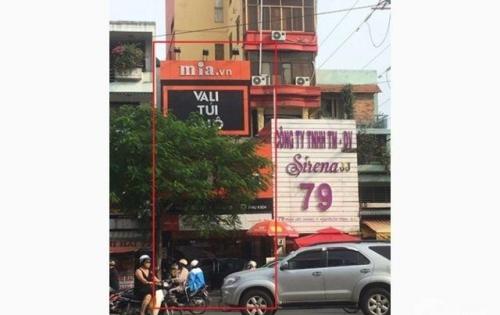 Cho thuê nhà gấp góc MT số 77B Phạm Viết Chánh, Phường Nguyễn Cư Trinh, Quận 1.