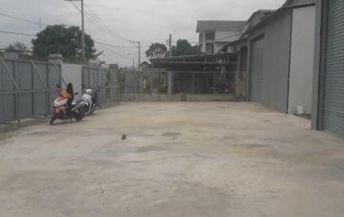 Cho thuê mặt bằng làm nhà xưởng, hoặc cửa hàng 3.000m2 tại mặt tiền Quốc Lộ 1A, Quận 12.