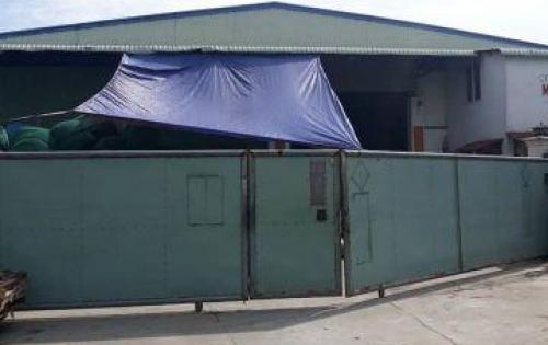 Cho thuê kho xưởng 600m2 cách đường Hà Huy Giáp 10m, khu  vực Quận 12.