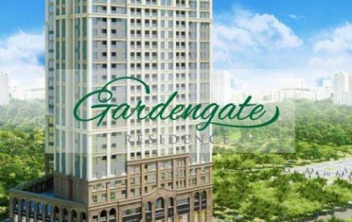 Chuyển công tác, Cho thuê căn hộ Garden Gate, 2PN, 75m2, giá cho thuê chỉ 18tr/tháng LH:0909800965