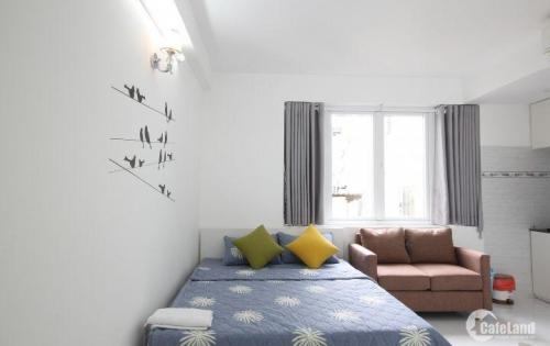 Cho thuê căn hộ Tân Bình 30m2 Núi Thành, an ninh, yên tĩnh.