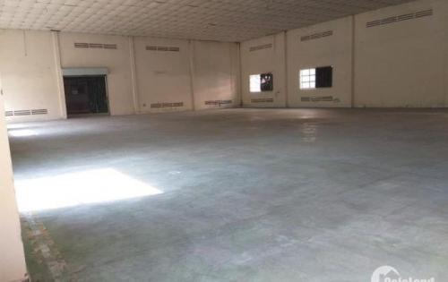 Cho thuê xưởng trong KCN Tân Bình với diện tích xưởng hơn 2.000m2 trong khuôn viên 3.200m2