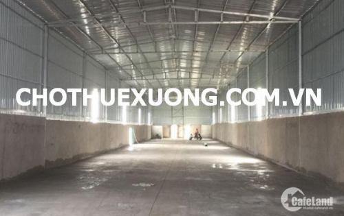 Cho thuê nhà xưởng mới tại Từ Liêm Hà Nội thuộc KCN Phú Minh