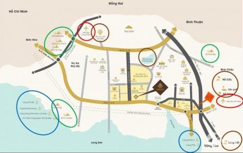 Felix city, Đất nền giá rẻ ngay Trung tâm hành chính tỉnh Bà Rịa, sổ đỏ riêng, giá chỉ 8,2 tr/m2 - 0902885808
